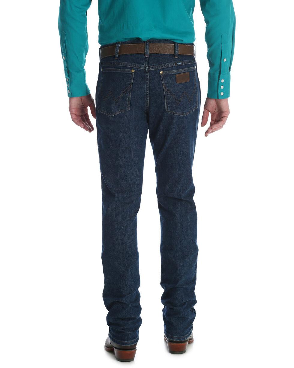 Wrangler Men's Midnight Rinse Premium Performance Cowboy Cut Slim Jeans - Big & Tall , Indigo, hi-res