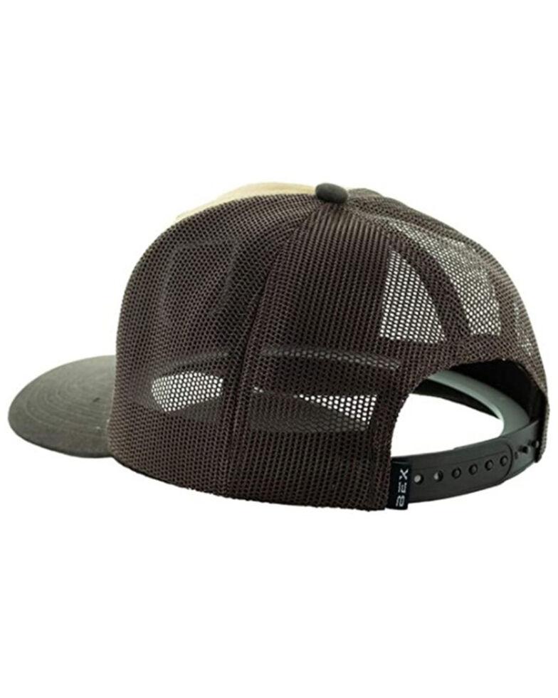 Bex Men's Steer Patch Mesh Back Cap , Brown, hi-res