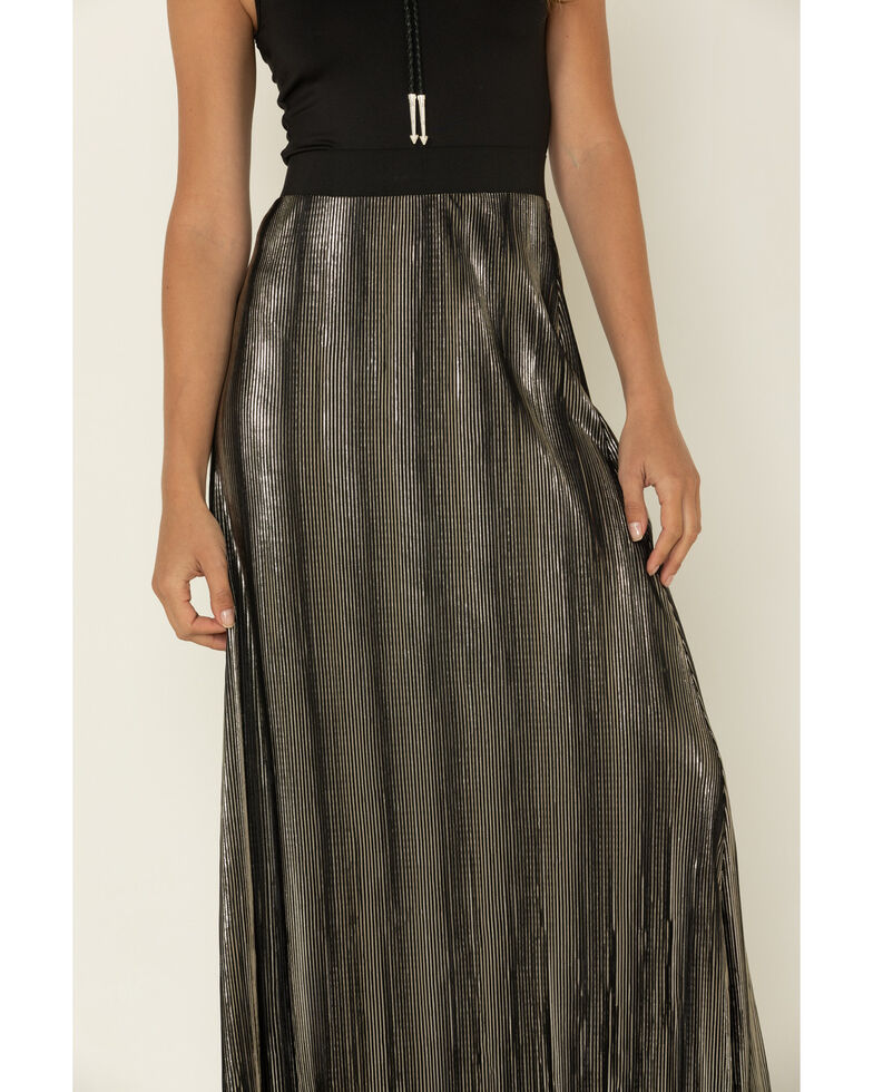 Tasha Polizzi Women's Black Ginger Skirt, Black, hi-res