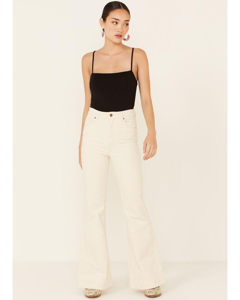 Rolla's Women's Vanilla East Coast Flare Jeans, Ivory, hi-res