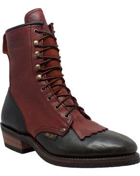 """Ad Tec Men's 9"""" Packer Work Boots - Soft Toe, Brown, hi-res"""