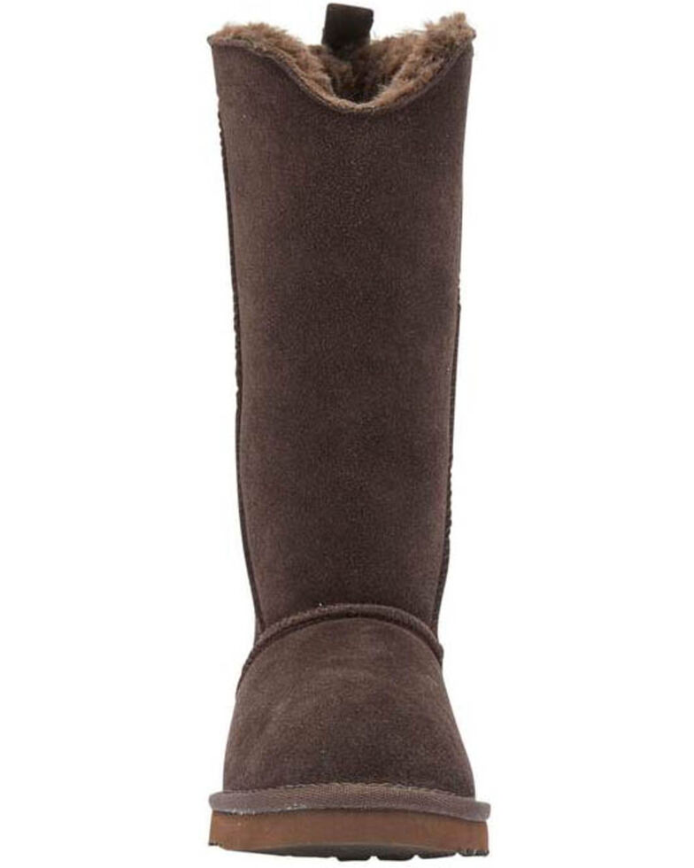 Lamo Women's Bellona Tall Boots - Round Toe, Chocolate, hi-res