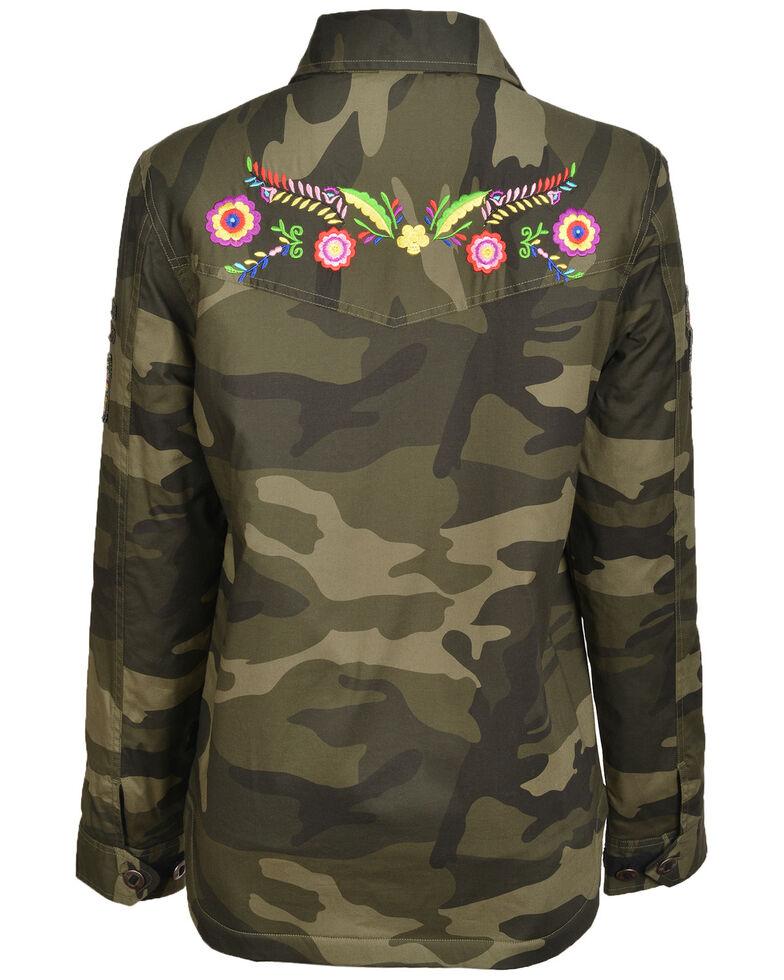 STS Ranchwear Women's Demi Camo Jacket , Camouflage, hi-res