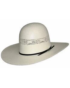 Hat Biz Natural Open Bangora Straw Western Hat , No Color, hi-res