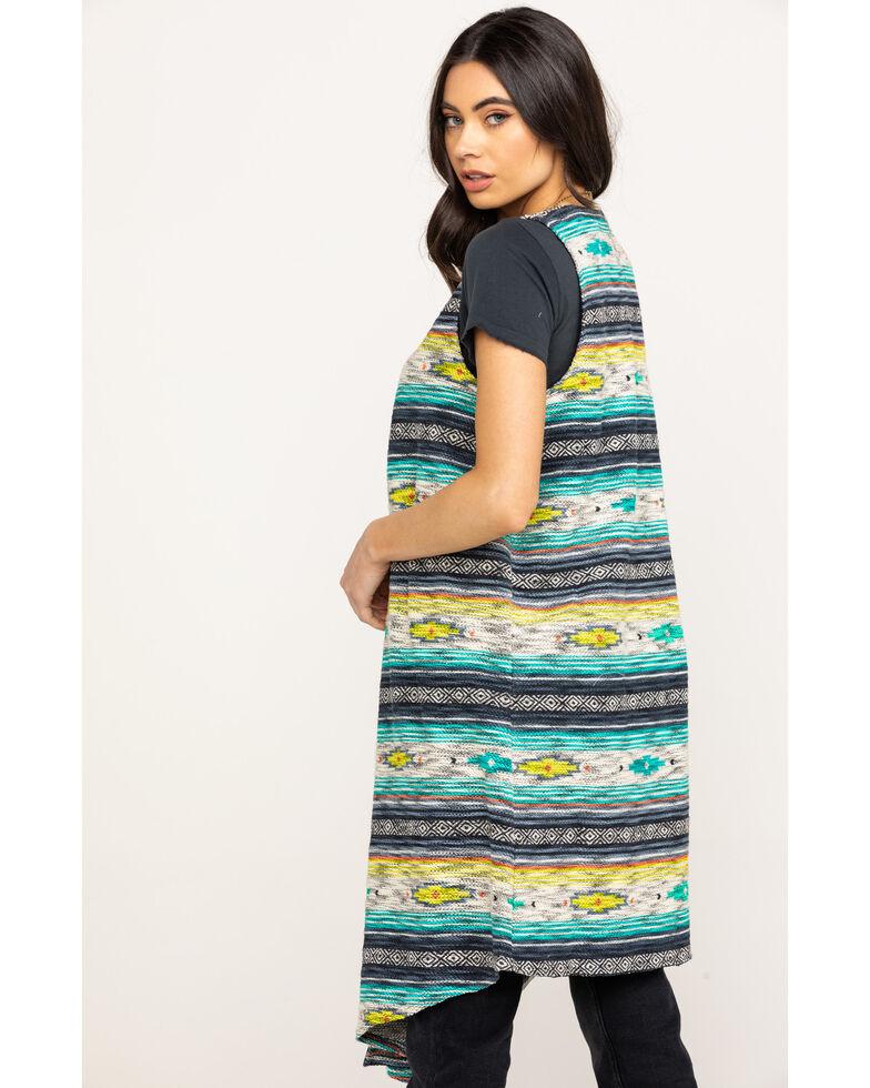 Ariat Women's Joshua Tree Striped Vest , Multi, hi-res
