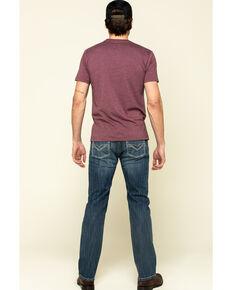 Rock & Roll Denim Men's Revolver Stretch Slim Straight Jeans , Blue, hi-res
