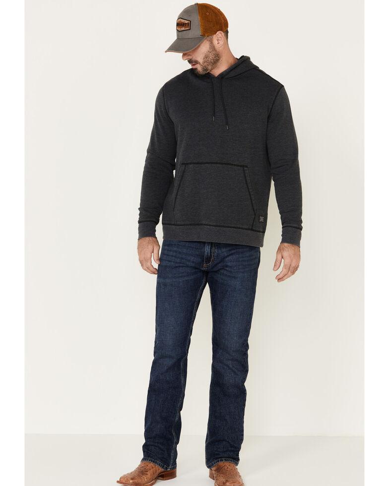 Flag & Anthem Men's Charcoal Colerain Burnout Fleece Hooded Sweatshirt , Charcoal, hi-res