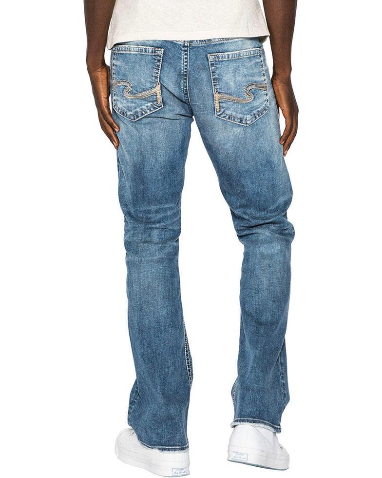 Silver Men's Craig Easy Fit Boot Cut Jeans, Indigo, hi-res