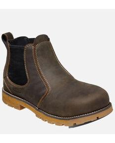 Keen Men's Seattle Romeo Work Boots - Aluminum Toe, Brown, hi-res