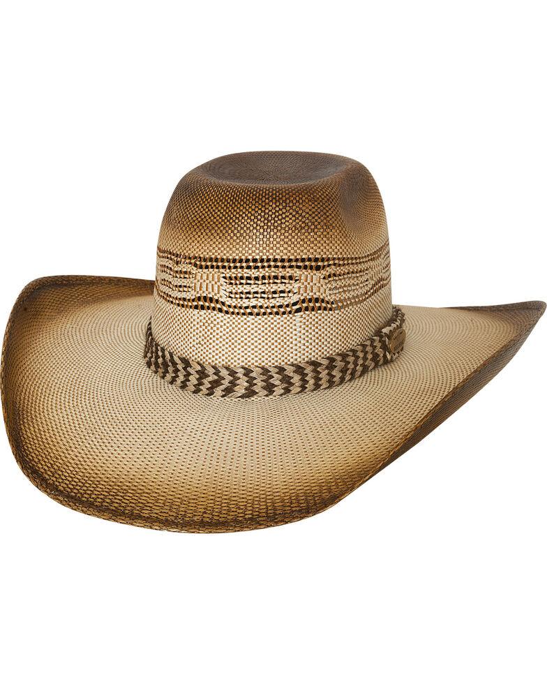 Bullhide Men's Natural Rushmore Straw Cowboy Hat , Natural, hi-res