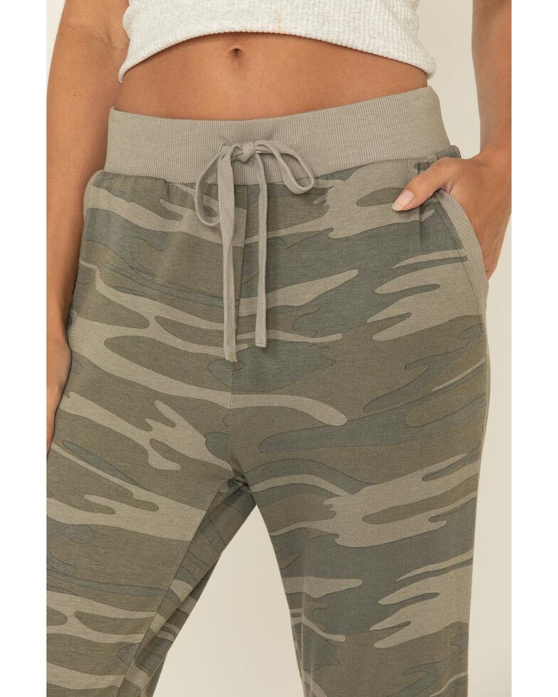 Z Supply Women's Camo Jordan Jogger Sweatpants, Camouflage, hi-res