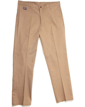 Lapco Men's Flame Resistant Work Pants, Beige/khaki, hi-res