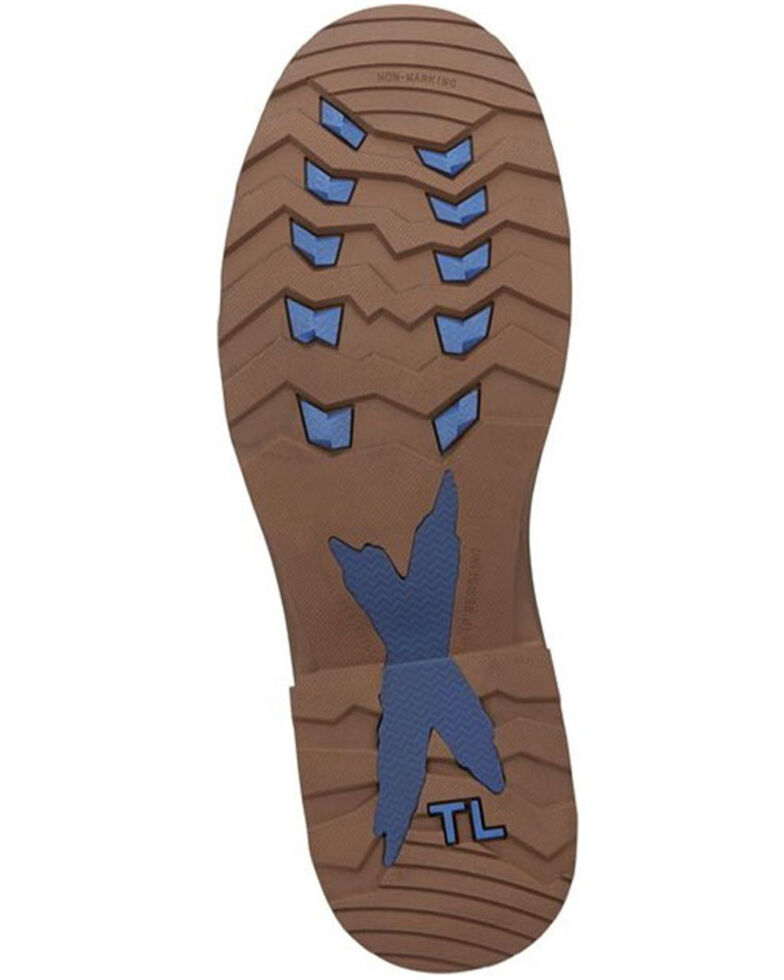 Tony Lama Men's Kinetic Waterproof Work Boots - Composite Toe, Brown, hi-res