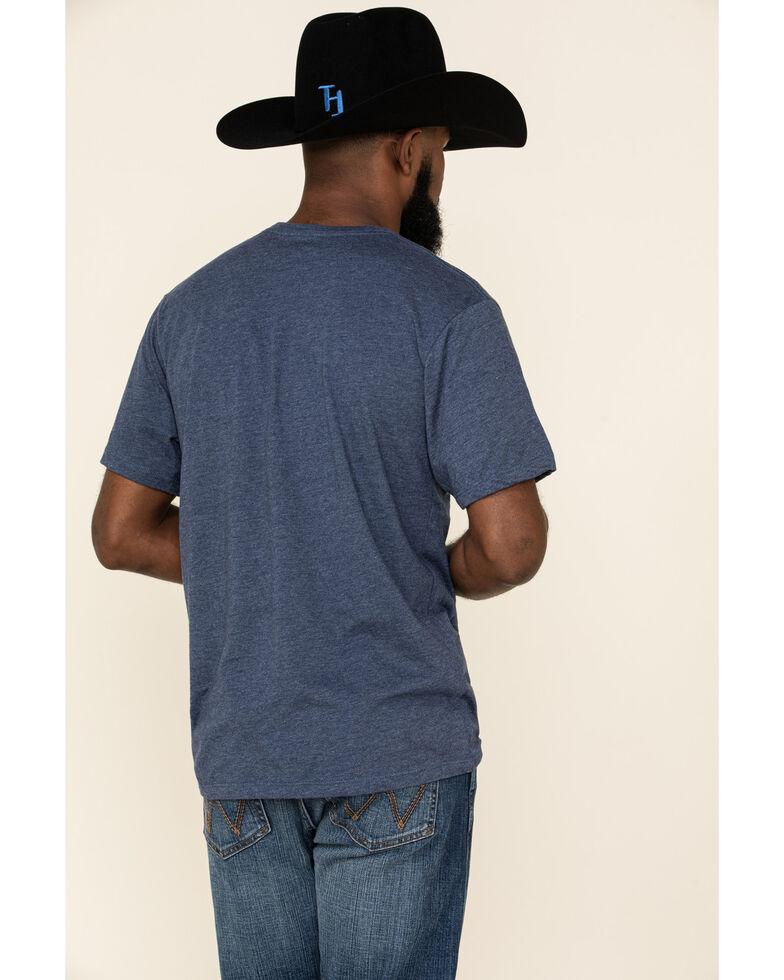 HOOey Men's Navy Petrol Graphic Short Sleeve T-Shirt , Navy, hi-res