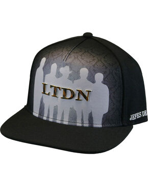 Los Tigres Del Norte Men's LTDN Cap, Black, hi-res