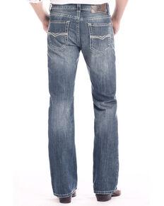 416447f71 Rock & Roll Cowboy Men's Dark Pistol Regular Stretch Boot Jeans