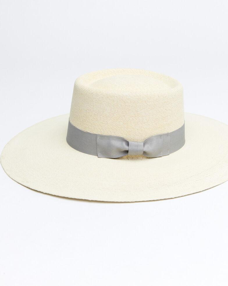 Atwood Hat Co. Silver Buckaroo Nevada Straw Western Hat , Silver, hi-res