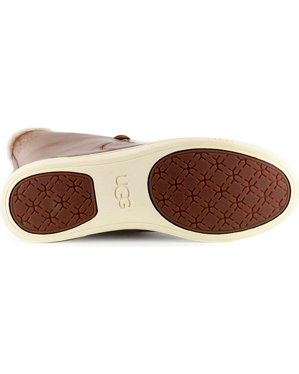 UGG Women's Croft Luxe Quilt Boots, Chestnut, hi-res