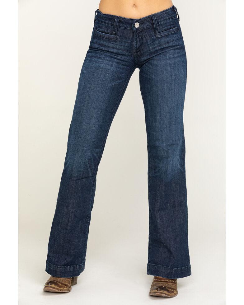 Ariat Women's Dark Stargazer Trouser , Blue, hi-res