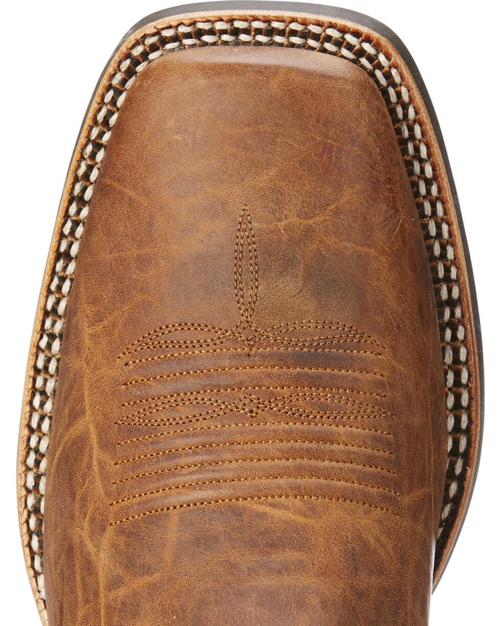 Ariat Men's Tan Branding Pen Western Boots - Square Toe , Tan, hi-res