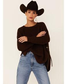 Cotton & Rye Women's Sweater, Brown, hi-res