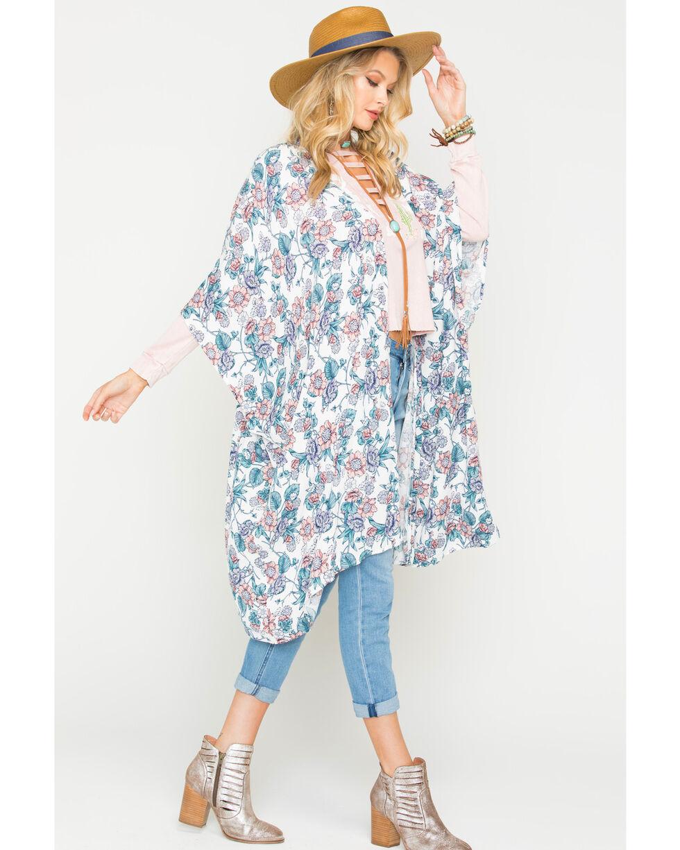Sage the Label Women's Friday I'm In Love Kimono, Ivory, hi-res