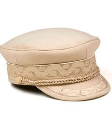 Lack Of Color Women's Honey Rivera Vintage Sailor Cap  , Gold, hi-res