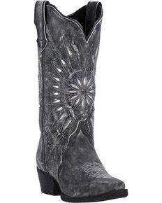 49175880920a Laredo Women s Silver Starburst Cowgirl Boots - Snip Toe