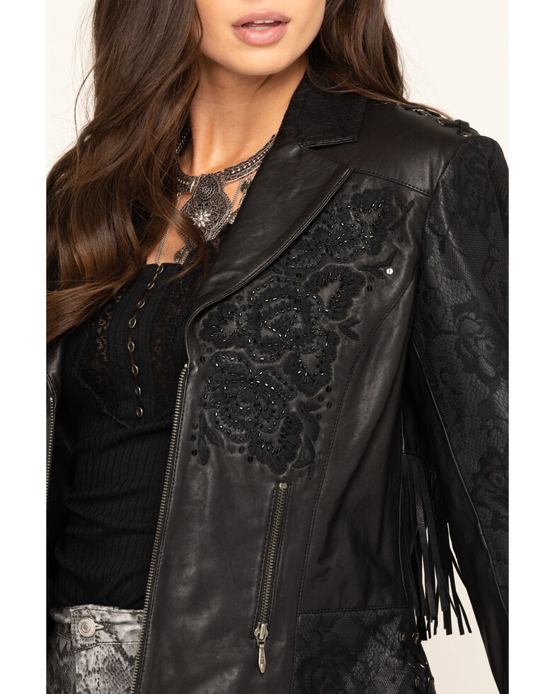 Double D Ranch Women's Black Night Shade Jacket, Black, hi-res