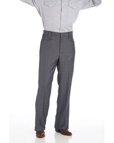 Circle S Men's Slate Grey Dress Pants, Grey, hi-res