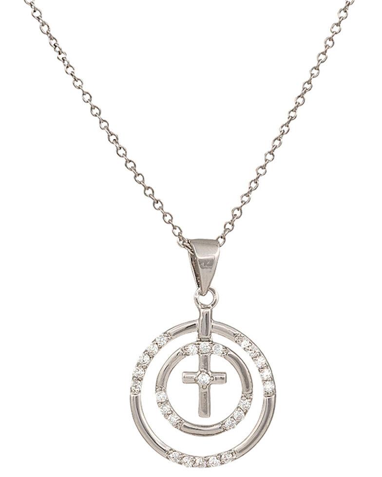 Montana Silversmiths Fellowship Circle Necklace, Silver, hi-res