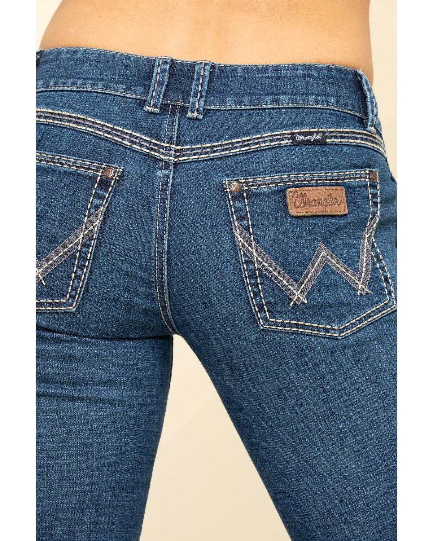 Lindsey Sadie Low-Rise Bootcut Jeans