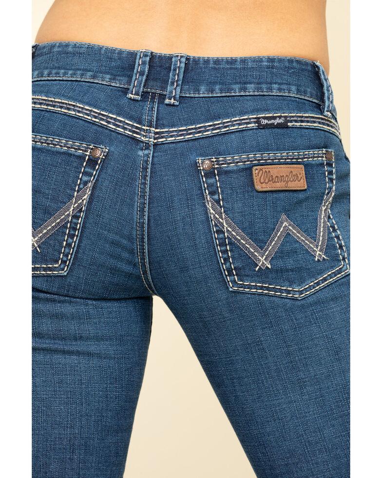 Wrangler Retro Women's Lindsey Sadie Low-Rise Bootcut Jeans , Blue, hi-res