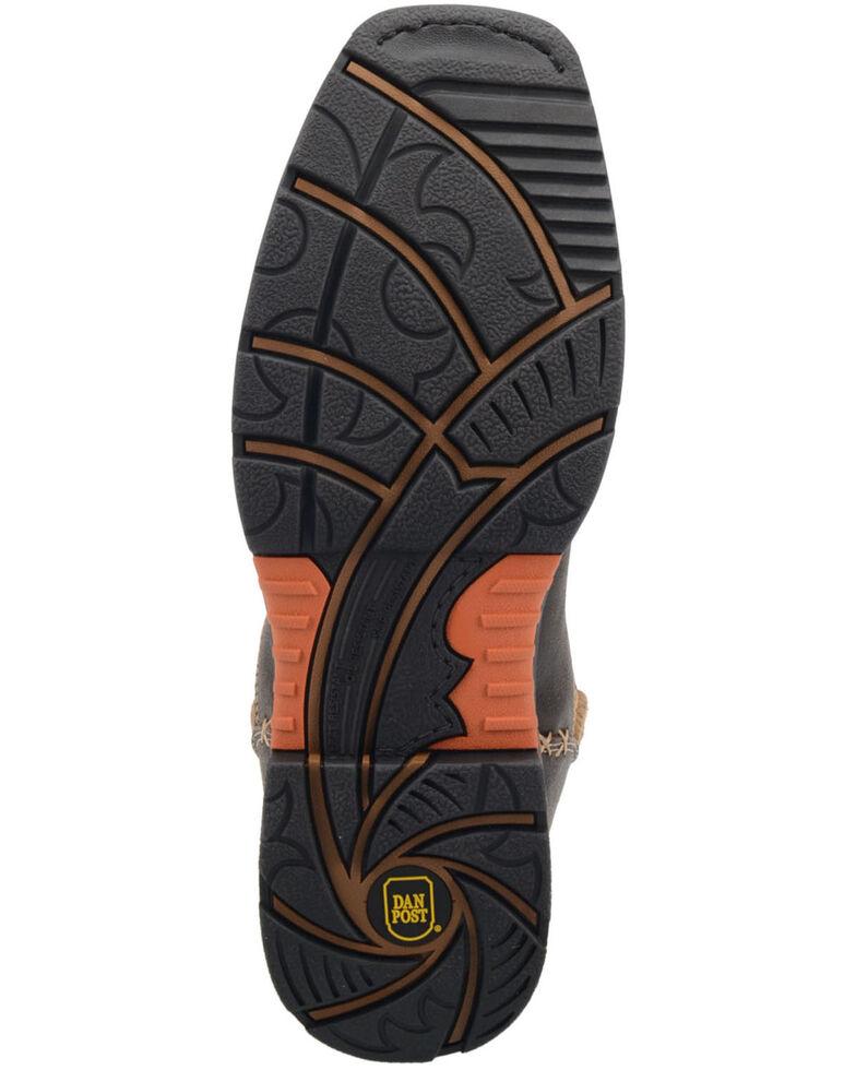 Dan Post Men's Scoop EH Waterproof Western Work Boots - Composite Toe , Rust Copper, hi-res