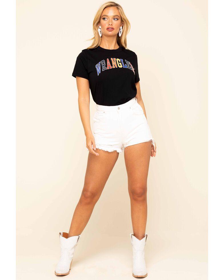 Rolla's Women's White High Rise Duster Shorts, White, hi-res