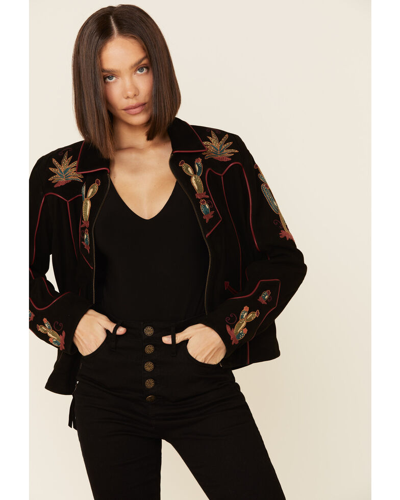 Double D Ranchwear Women's Back In The Saddle Jacket , Black, hi-res