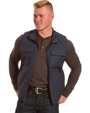 American Worker Men's Reversible Major Canvas Vest, Navy, hi-res
