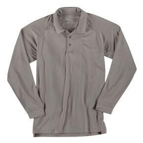 5.11 Tactical Performance Long Sleeve Polo, Tan, hi-res