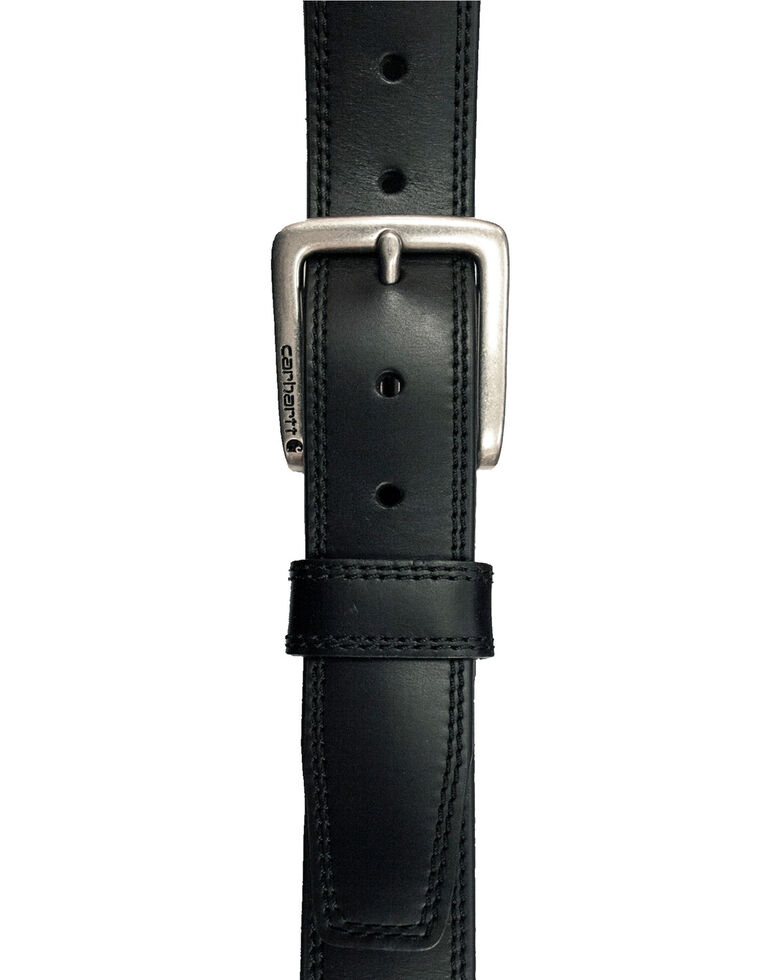 Carhartt Men's Black Hamilton Work Belt, Black, hi-res