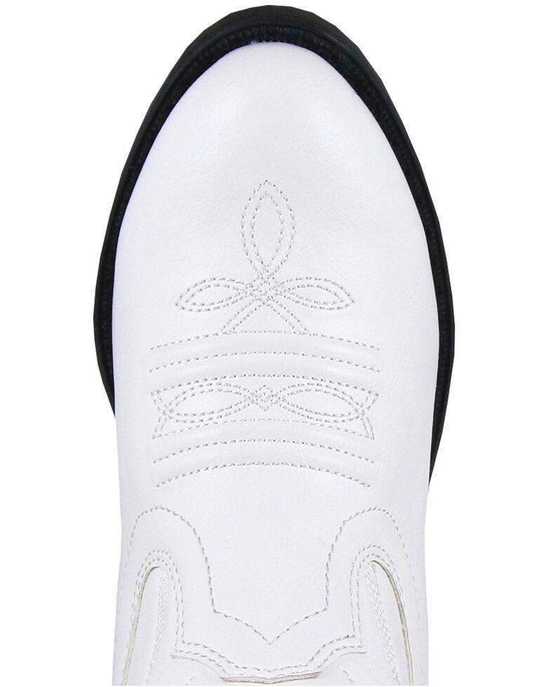 Smoky Mountain Girls' Mesquite II Western Boots - Round Toe, White, hi-res