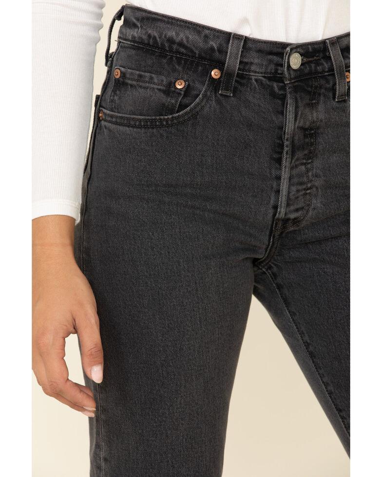 Levi's Women's 501 Skinny Crop Jeans, Black, hi-res