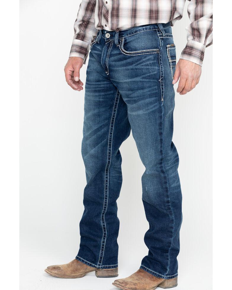 Ariat Men's M3 Ford Truckee Dark Wash Jeans - Big , Blue, hi-res