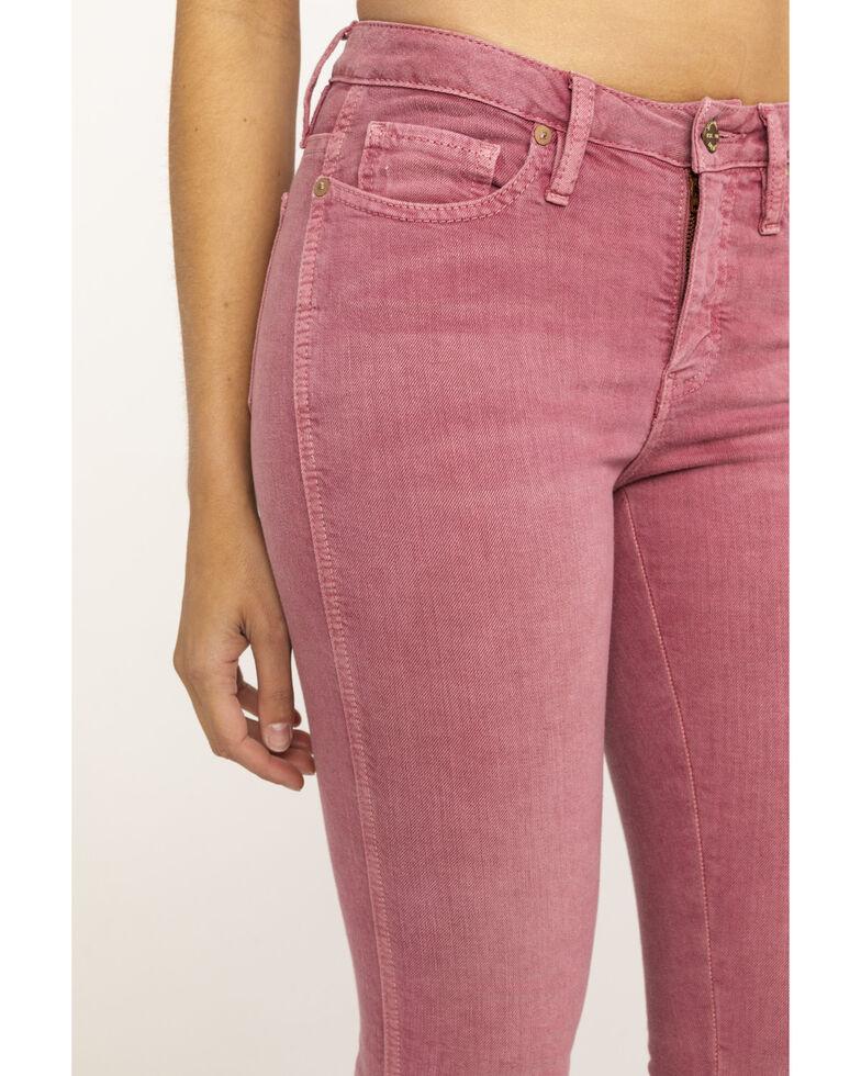 Miss Me Women's Pink Skinny Jeans, Pink, hi-res