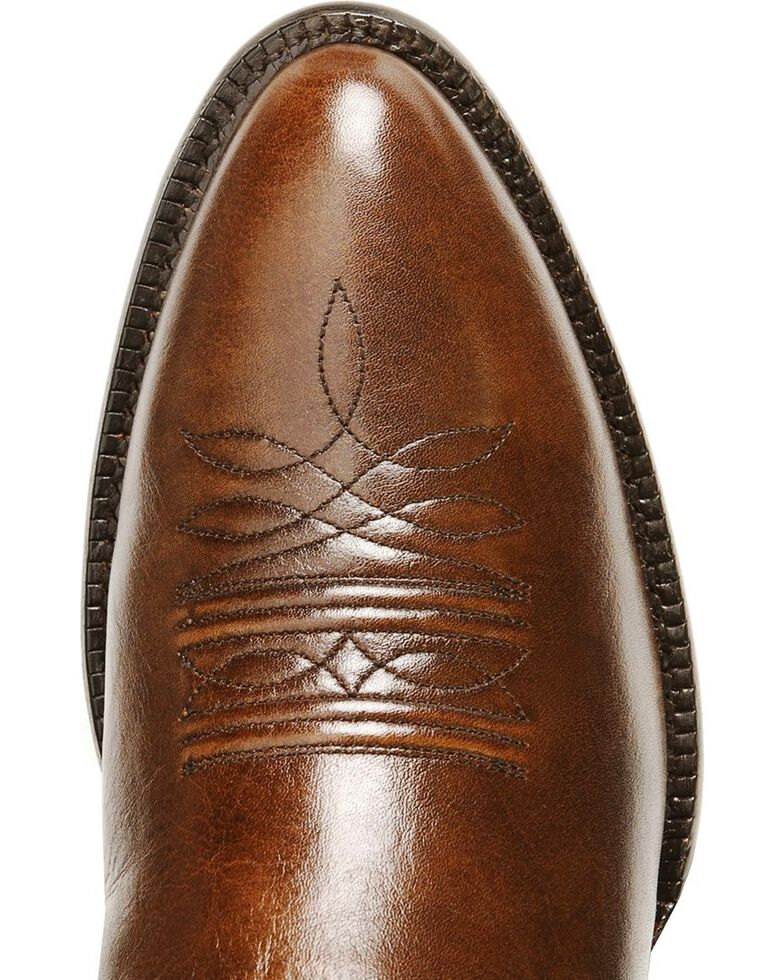 Nocona Men's Imperial Calfskin Cowboy Boots - Medium Toe, Tan, hi-res