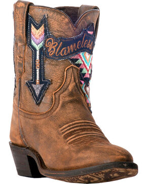 Laredo Women's Radical Blameless Arrow Cowgirl Boots - Medium Toe, Tan, hi-res