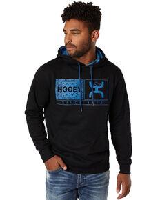 HOOey Men's Black Roots Hooded Sweatshirt , Black, hi-res