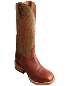 Twisted X Men's Brown HOOey Western Boots, Brown, hi-res