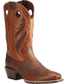 1911022e043 Men's Square Toe Boots - Country Outfitter