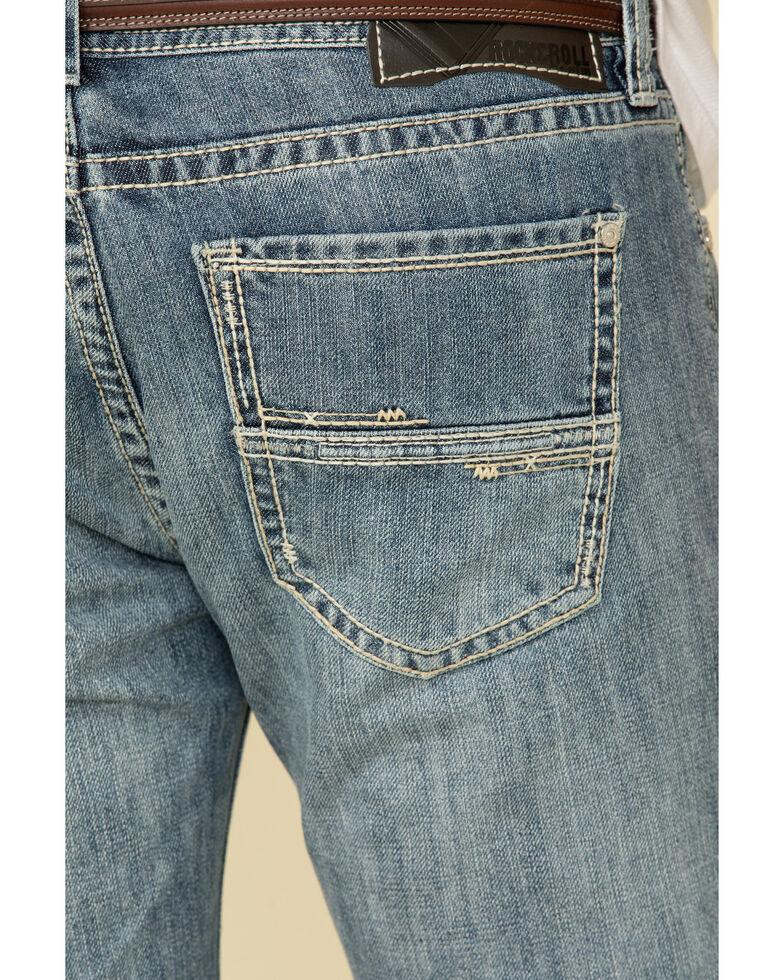 Rock & Roll Denim Men's Pistol Light Regular Straight Jeans , Blue, hi-res