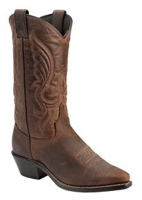Abilene Women's Cowhide Cowgirl Boots - Snip Toe, Brown, hi-res